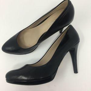 Nine West 8.5 Wise Up Shoes Stiletto Pumps Black